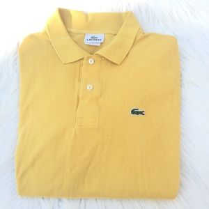73 off lacoste other lacoste yellow alligator logo golf tennis lacoste shirts lacoste yellow alligator logo golf tennis shirt 6 sciox Images